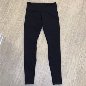 Lululemon leggings- black, full length